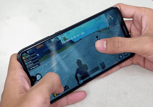 Điện thoại chơi game tốt giá dưới 4 triệu, Huawei Y7 Pro 2019 khi chơi PUBG Mobile
