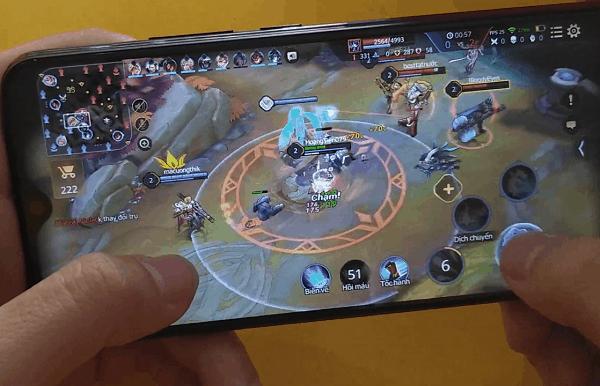 Điện thoại chơi game tốt giá dưới 4 triệu, Vivo Y12 khi chơi Liên Quân Mobile