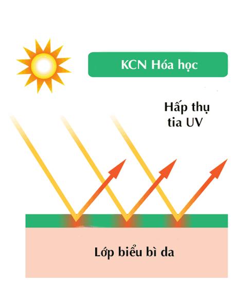 Nên dùng kem chống nắng vật lý hay hóa học, nguyên lý hoạt động của kem chống nắng hóa học