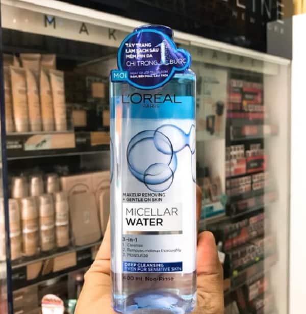 Nên sử dụng nước tẩy trang L'Oreal 3 In 1 Micellar không? Công dụng nước tẩy trang L'Oreal 3 In 1 Micellar
