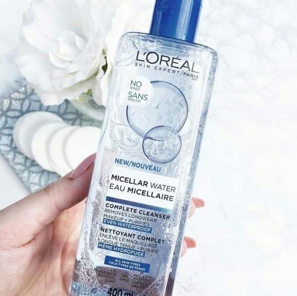 Nên sử dụng nước tẩy trang L'Oreal 3 In 1 Micellar không? Nước tẩy trang L'Oreal 3 In 1 Micellar Deep Cleasinglàm sạch sâu