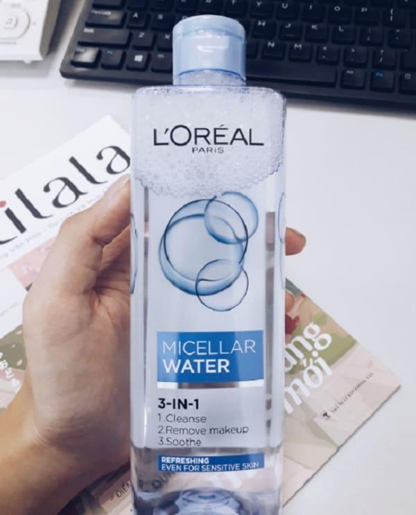 Nên sử dụng nước tẩy trang L'Oreal 3 In 1 Micellar không? Nước tẩy trang L'Oreal 3 In 1 Micellar Refreshing