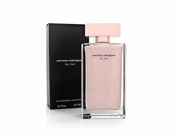 Review nước hoa Narciso hồng nhạt, nước hoa Narciso For Her EDP