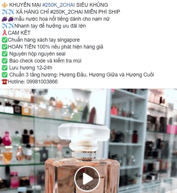 Phân biệt nước hoa thật và giả, cảnh giác với nước hoa Singapore