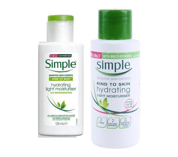 Review kem dưỡng ẩm Simple Kind to Skin Hydrating Light Moisturiser, Có nên mua kem dưỡng ẩm Simple Hydrating hay không?