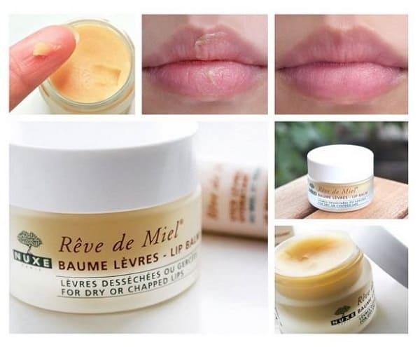 Review son dưỡng môi Nuxe reve de miel, công dụng của son dưỡng môi Nuxe