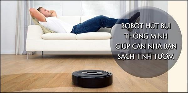 5 loại robot hút bụi lau nhà thông minh đáng mua nhất hiện nay