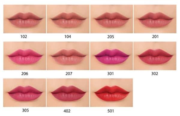 Nên dùng son nào tốt nhất hiện nay? Son Cezanne Lasting Lip Color N.