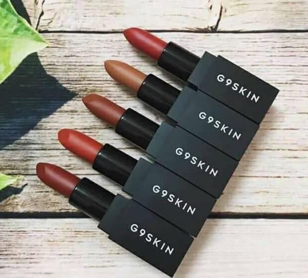 Son G9 SKin First Lipstick có đẹp không? Dòng son lì Son G9 SKin First Lipstick