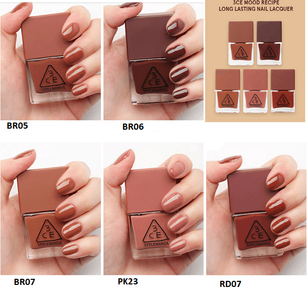 Sơn móng tay 3ce loại nào màu đẹp, giá bao nhiêu, mua ở đâu chính hãng? Review các dòng sơn móng tay 3ce