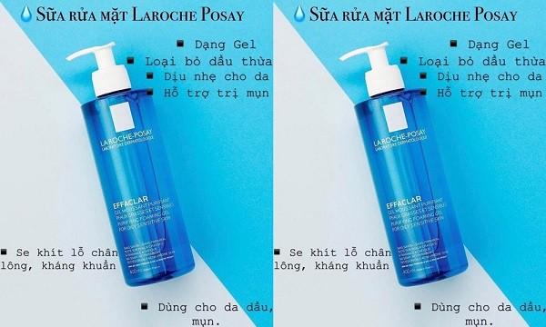 Sữa rửa mặt La Roche Posay Effaclar Gel giúp sạch mụn thật không: Review kết cấu, mùi hương sản phẩm