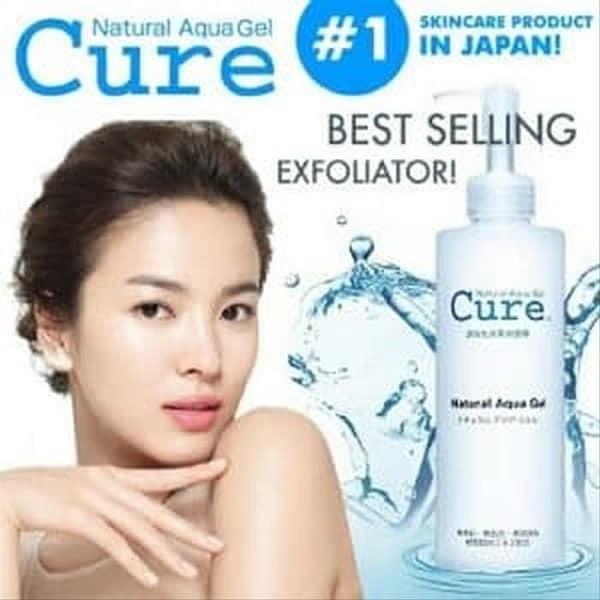 Tẩy da chết Cure Natural Aqua Gel có tốt không: Giới thiệu thương hiệu Cure của Nhật Bản
