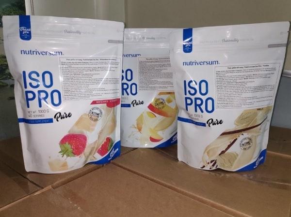 Thực phẩm Nutriversum Iso Pro có thực sự tốt không? Thực phẩm bổ sung Protein cho người tập gym tốt nhất hiện nay. Thực phẩm Nutriversum Iso Pro
