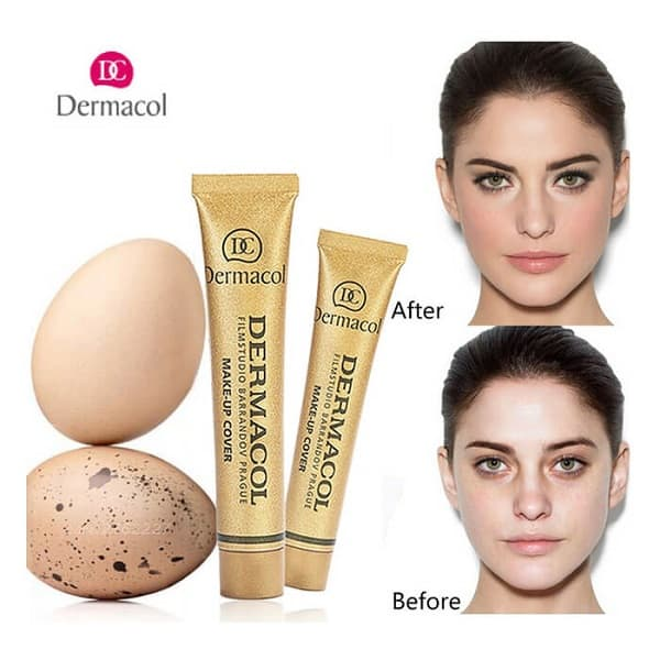 Kem che khuyết điểm Dermacol có tốt không: Hướng dẫn cách dùng kem che khuyết điểm Dermacol hiệu quả
