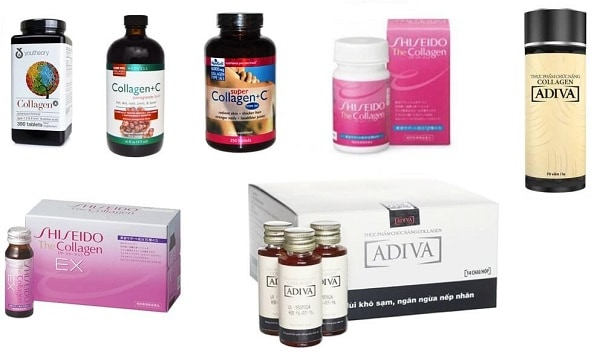 Gợi ý TOP 5 collagen tốt nhất hiện nay