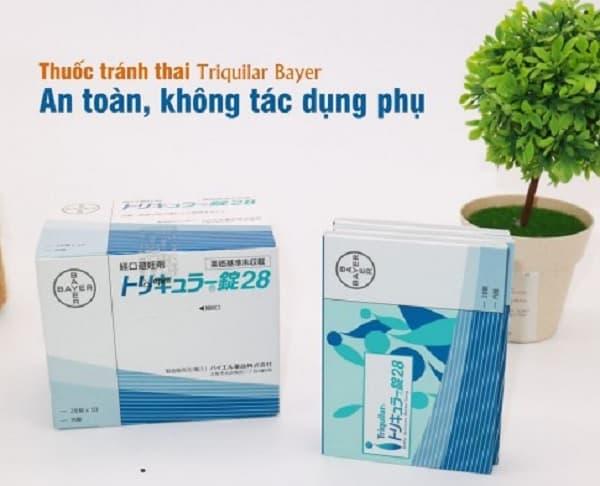 Thuốc tránh thai hàng ngày Triquilar Bayer. Thuốc tránh thai hàng ngày chất lượng tốt hiện nay.