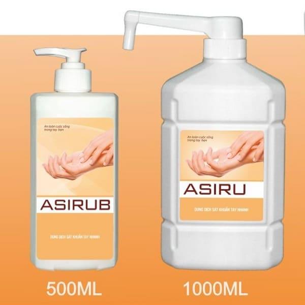 10 loại nước rửa tay khô tốt nhất hiện nay: Nước rửa tay khô Asirub