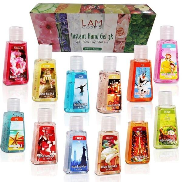 10 loại nước rửa tay tốt nhất hiện nay: Gel rửa tay khô Lamcosmé