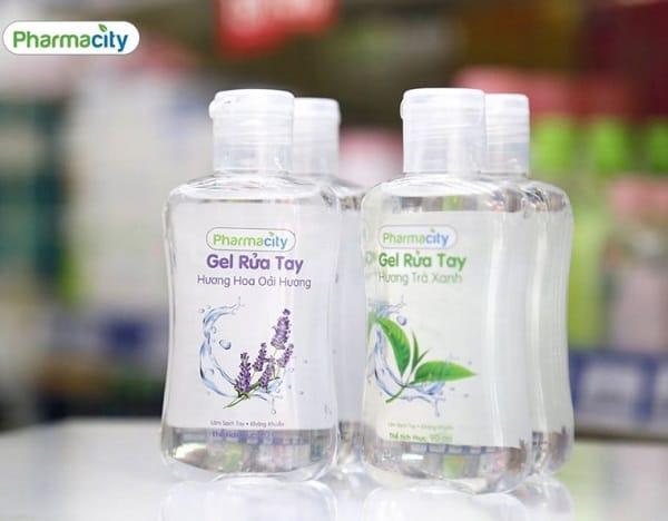 10 loại nước rửa tay khô tốt nhất hiện nay: Nước rửa tay khô Pharmacity