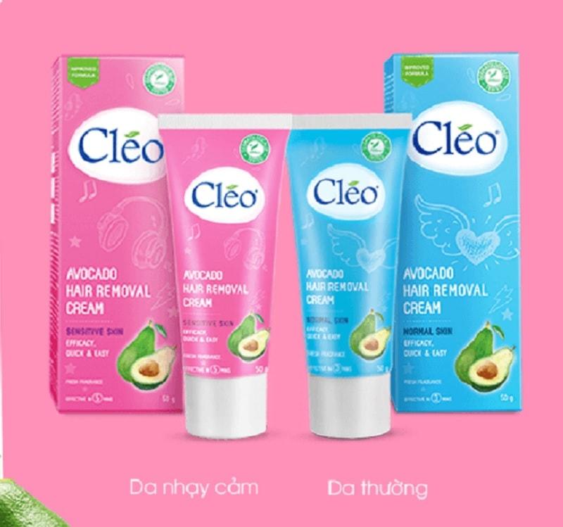 Có nên dùng kem tẩy lông Cleo bơ không? kem tẩy lông tốt nhất hiện nay
