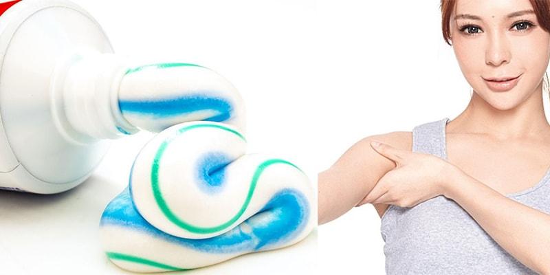 Hướng dẫn cách tẩy lông bằng kem đánh răng. Cách tẩy lông nách bằng kem đánh răng