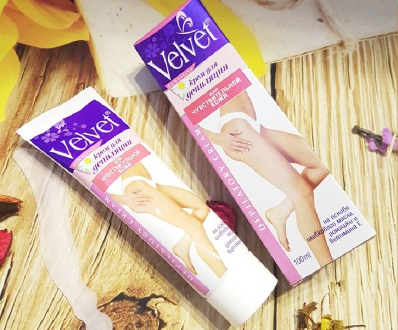 Kem tẩy lông vùng kín Velvet có tốt không? Kem tẩy lông hiệu quả nhất hiện nay