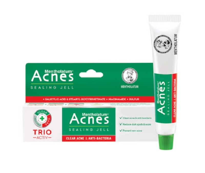 Kem trị mụn ẩn cho da mặt tốt nhất hiện nay. Có nên dùng kem trị mụn ẩn không? Kem trị mụn ẩn Rohto Acnes