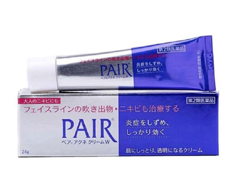 Kem trị mụn ẩn cho da mặt tốt nhất hiện nay. Đánh giá kem trị mụn ẩn tốt nhất hiện nay. Kem trị mụn ẩn Lion Pair Acne Cream W