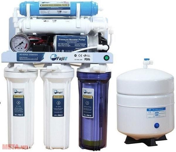 Máy lọc nước gia đình giá dưới 5 triệu: Máy lọc nước tinh khiết RO thông minh FujiE RO-07