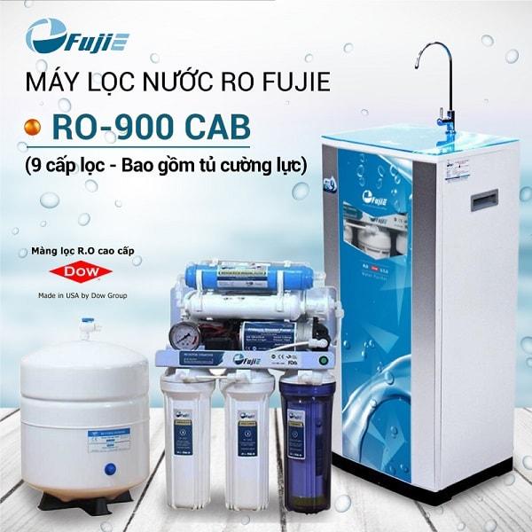 Máy lọc nước gia đình giá dưới 5 triệu: Máy lọc nước RO FujiE RO-900 CAB