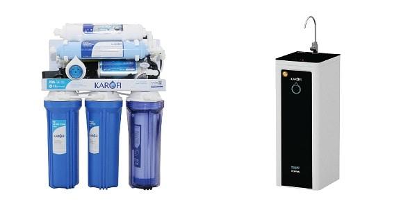 Máy lọc nước gia đình giá dưới 5 triệu: Thiết kế lõi trần và vỏ bọc của máy lọc nước