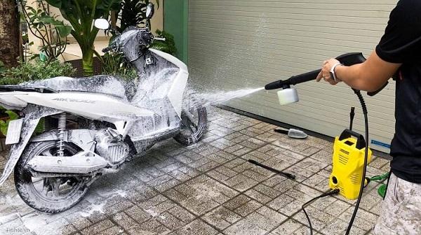 Máy rửa xe gia đình loại nào tốt?