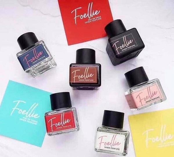 Review nước hoa vùng kín Foellie: 6 mùi hương của nước hoa Foellie