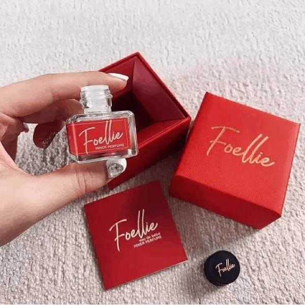 Review nước hoa vùng kín Foellie: Nước hoa vùng kín Foellie Eau de Innerb (lọ màu đỏ)