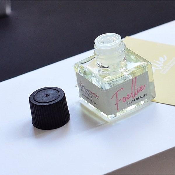 Review nước hoa vùng kín Foellie: Nước hoa vùng kín Foellie Eau de Innerb (lọ màu trắng)