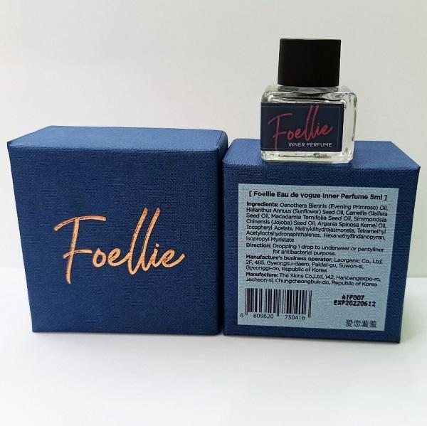 Review nước hoa vùng kín Foellie: Nước hoa vùng kín Foellie Vogue (màu xanh)
