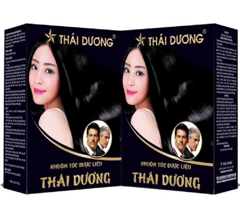 Thuốc nhuộm tóc thảo dược Thái Dương tốt không? Thuốc nhuộm tóc giá rẻ hiện nay