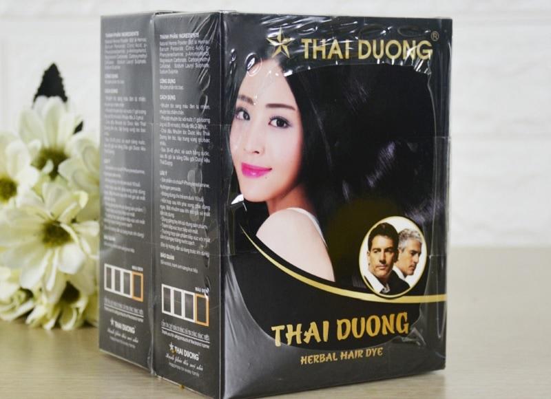 Thuốc nhuộm tóc thảo dược Thái Dương tốt không? Nhuộm tóc dược liệu Thái Dương mua ở đâu