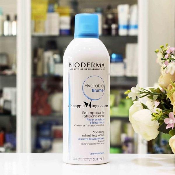 Xịt khoáng Bioderma có tốt không? Thiết kế nhã nhặn, tinh tế của chai xịt khoáng Bioderma