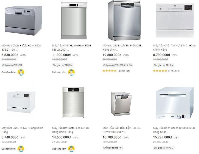 Có nên dùng máy rửa bát không? Máy rửa bát tốt hất hiện nay