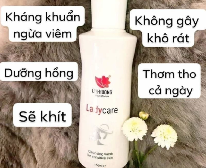 Dung dịch vệ sinh phụ nữ Linh Hương. Ladycare có tốt không?