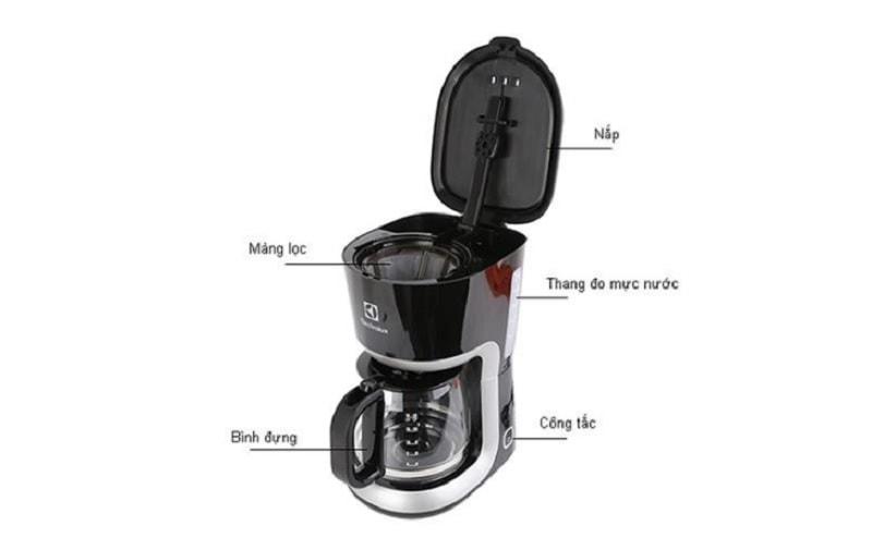 Máy pha cà phê Electrolux giá dưới 1 triệu tốt nhất. Máy pha cà phê gia đình. Máy pha cà phê Electrolux dưới 1 triệu