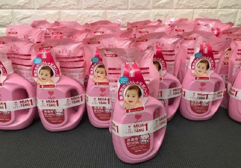 Nước giặt cho bé sơ sinh của Nhật. Nước giặt cho trẻ sơ sinh loại nào tốt