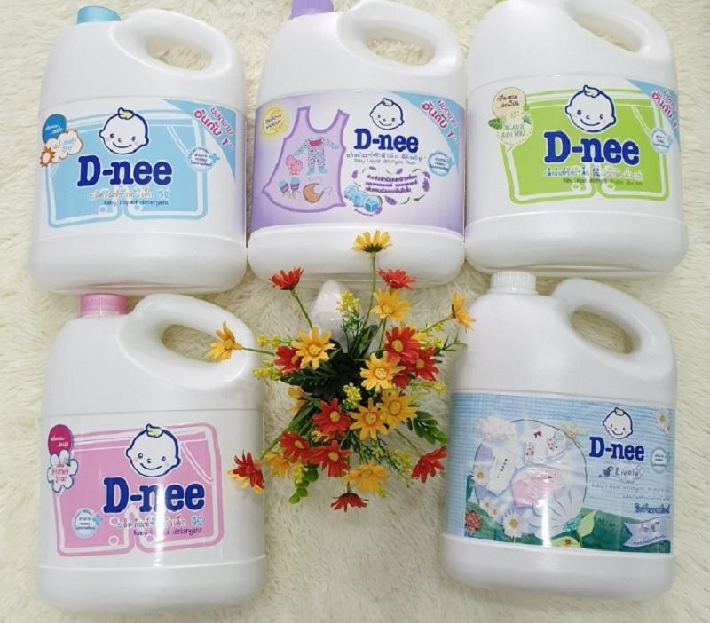 Nước giặt cho trẻ sơ sinh loại nào tốt? Nước giặt cho trẻ sơ sinh D-Nee. Nước giặt dành cho trẻ sơ sinh tốt nhất hiện nay