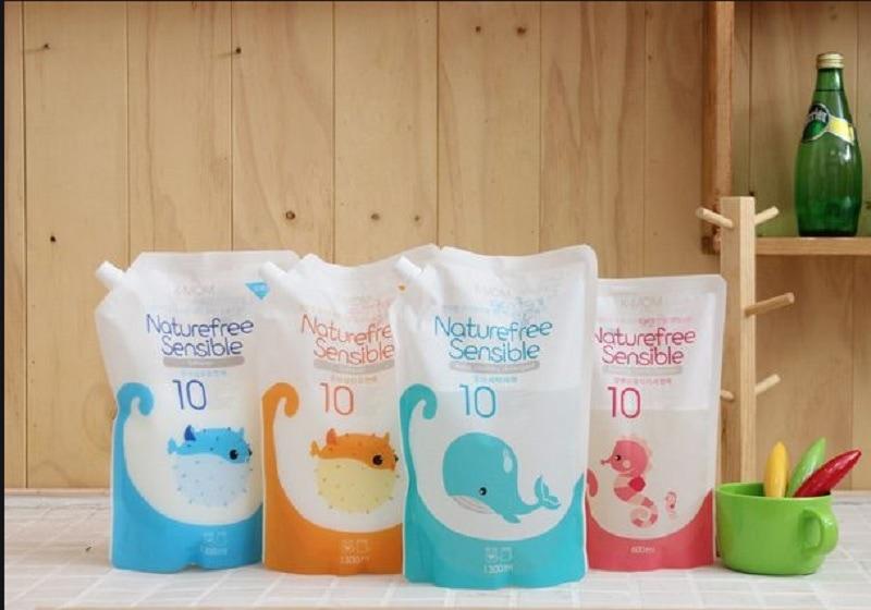Review nước giặt quần áo trẻ sơ sinh. Nước giặt cho trẻ sơ sinh loại nào tốt?