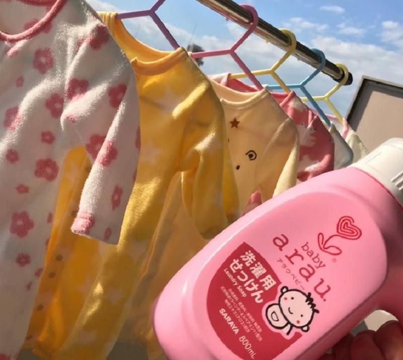 Nước giặt cho trẻ sơ sinh loại nào tốt. Review nước giặt quần áo trẻ sơ sinh