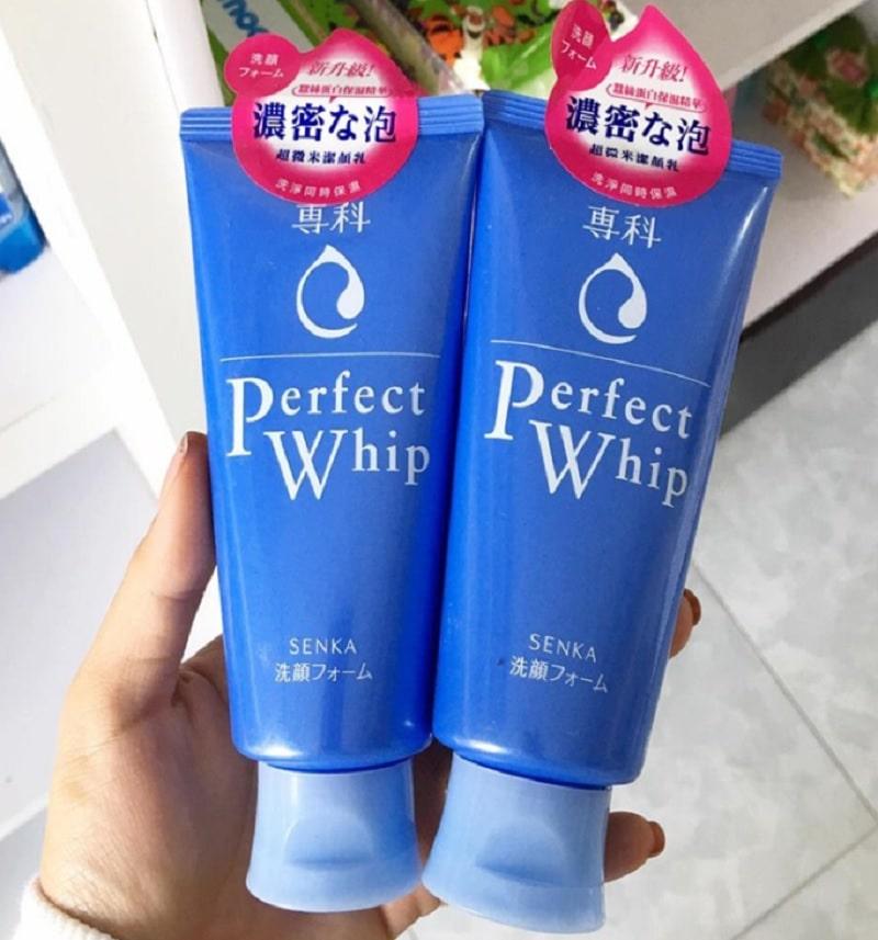 Sữa rửa mặt dành cho da dầu. Sữa rửa mặt Senka Perfect Whip. Sữa rửa mặt dành cho da dầu giá tốt hiện nay