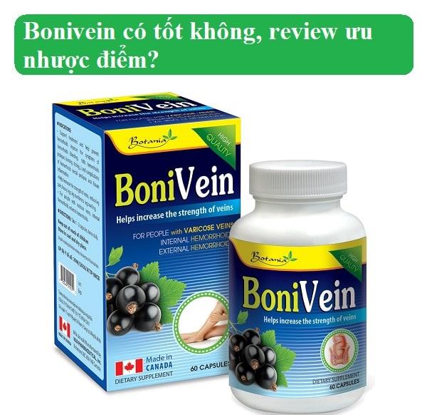 Thuốc Bonivein có tốt không, review ưu nhược điểm?