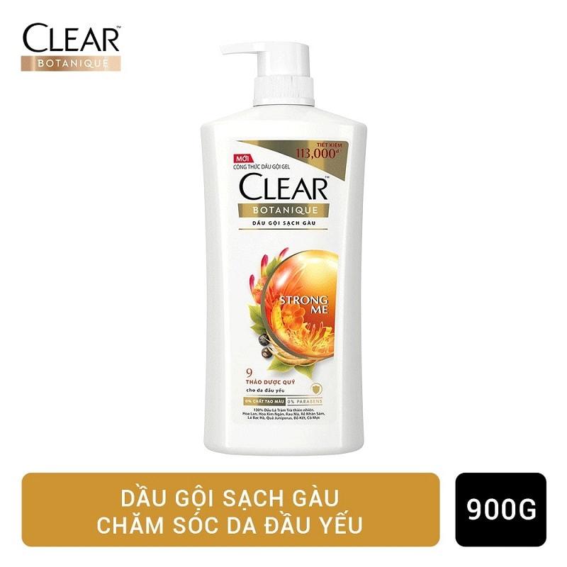 Dầu gội clear thảo dược - Loại dầu gội đầu thảo dược phổ biến nhất hiện nay