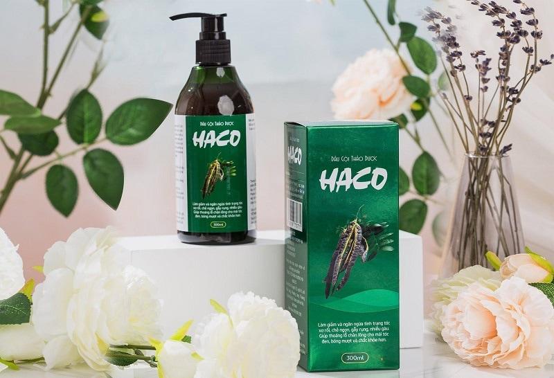 Dầu gội thảo dược Haco - Dầu gội thảo dược đáng mua nhất hiện nay